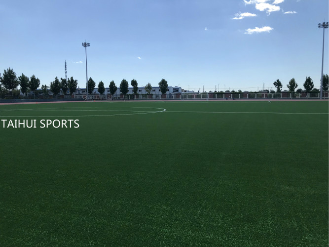 Finished FIFA Quality Pro field with TaihuiSports products